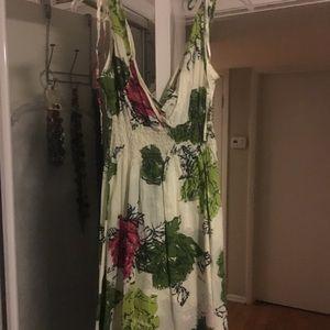 American Rag M floral dress